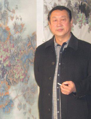 最会画葡萄的画家 葡萄才子聂峰